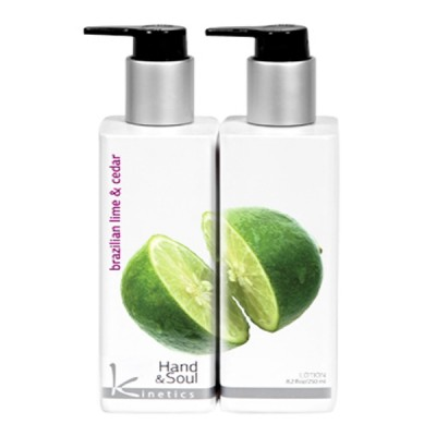 "Kinetics Hand & Bodyl Lotion ""Brazilian Lime Cedar"" 250ml"